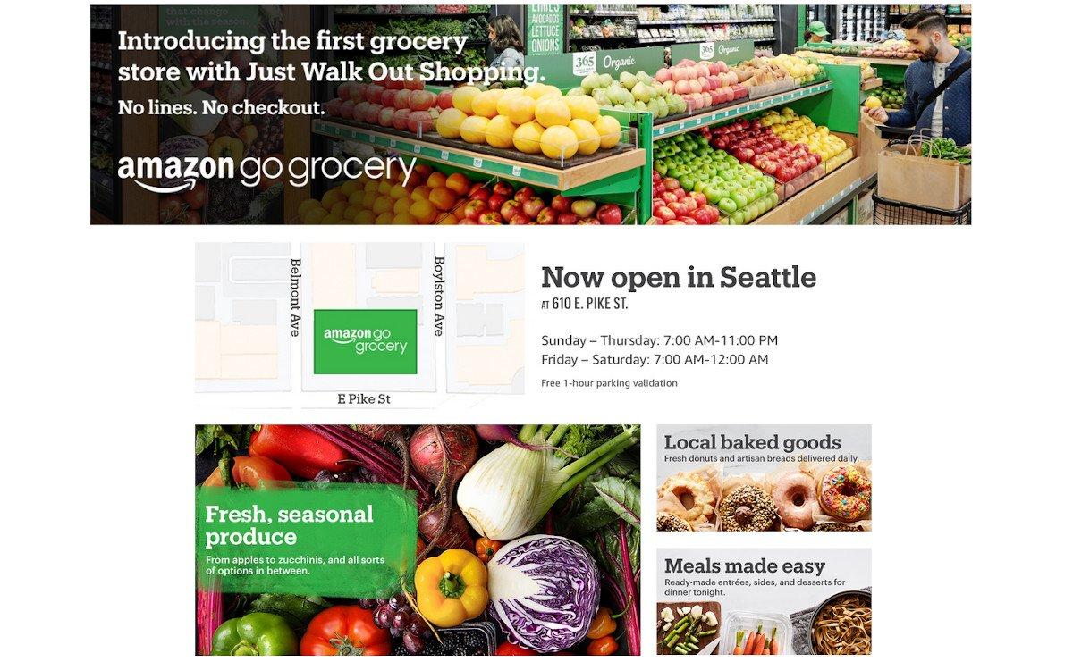 Amazon Grocery Go (Foto: Screenshot)