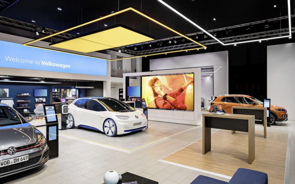 Volkswagen New Brand Design - neues Autohaus-Konzept (Foto: Volkswagen)