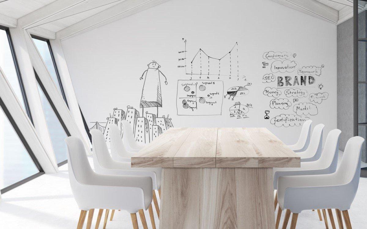Whiteboard Folie Aslan Euroshop 2020