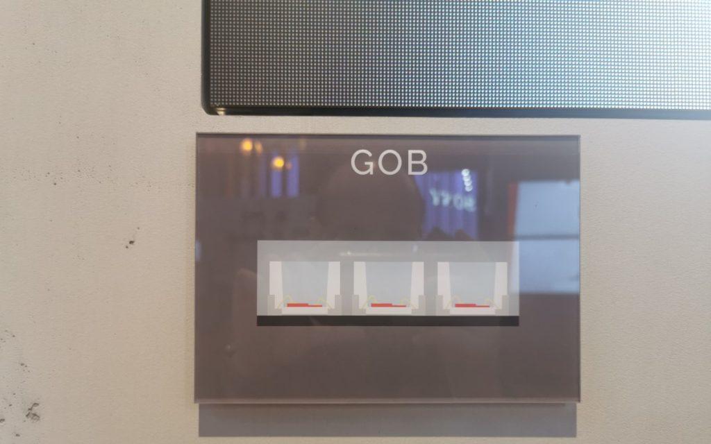 GOB Lang LED tech Comparison (Foto: invidis)