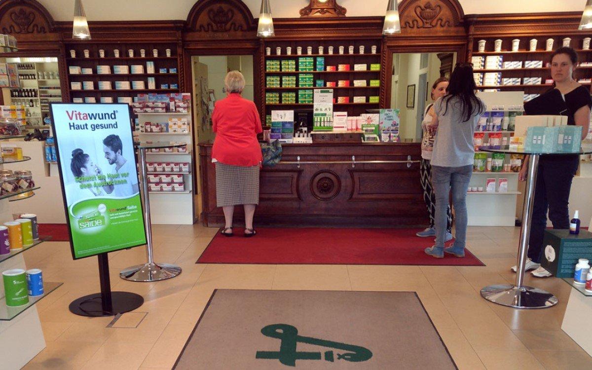 Digital Signage gewinnt für Apotheken immer mehr an Bedeutung (Foto: easescreen)