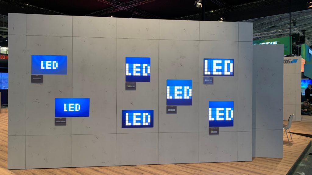 LED Technologien im Vergleich - bei Lang auf der ISE (Foto: invidis)
