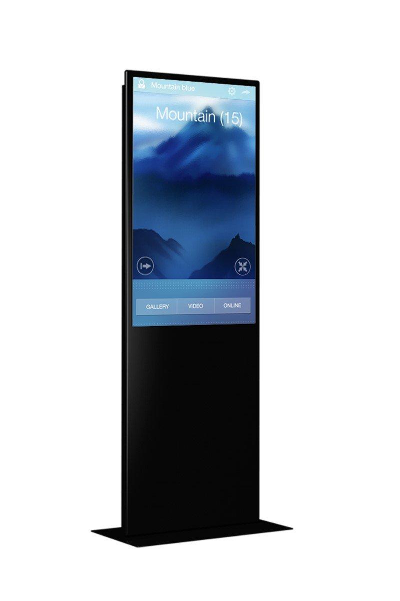 Die neue InfoStele Flat 43 von marketing-displays (Foto: marketing-displays)