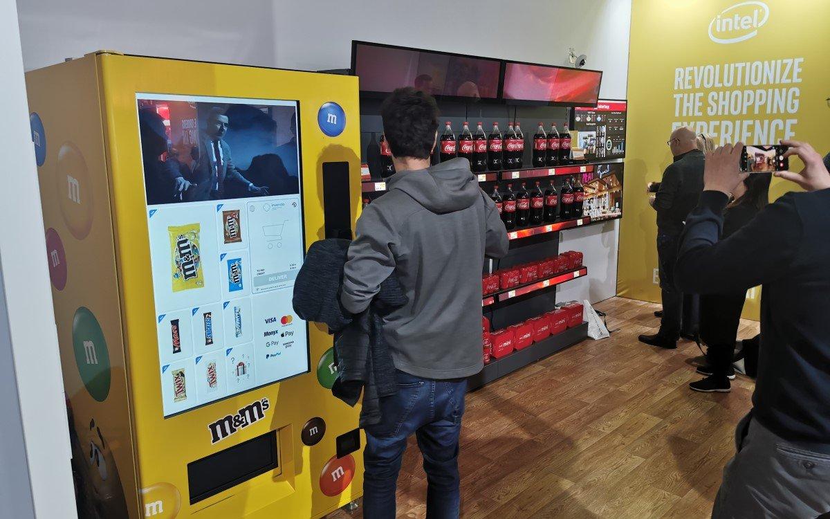 Intel ISE 2020 Vending Maschine