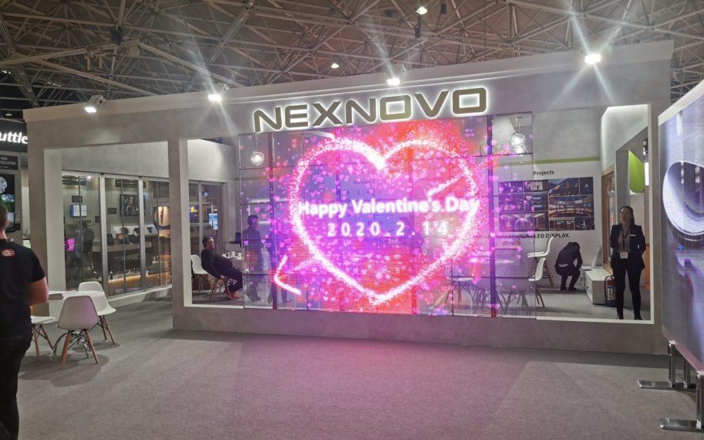 Nexnovo - Impressionen ISE 2020 (Foto: invidis)