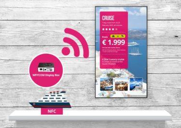 Auf der Euroshop 2020 zeigt die Online Software AG ihre NFC-basierte Produktberatung ADAM, welche auf die Playerbox der Firma WPITCOM setzt (Foto: Online Software AG)