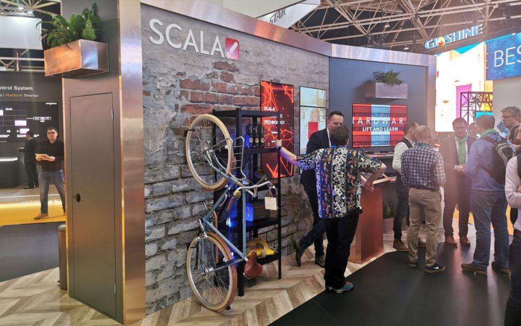 Scala - Impressionen ISE 2020 (Foto: invidis)