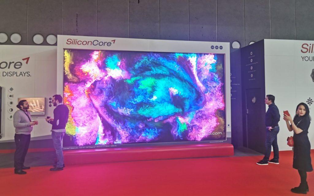 Siliconcore - Impressionen ISE 2020 (Foto: invidis)