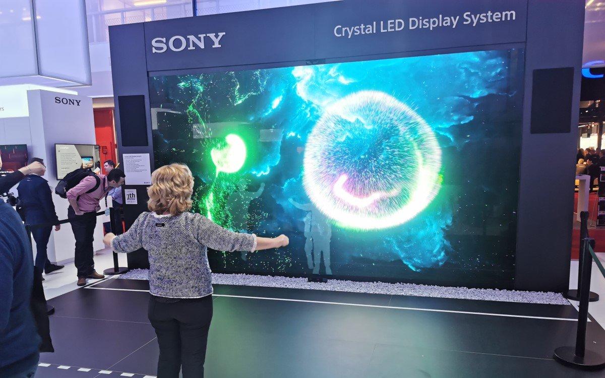 Sony Crystal LED ISE 2020