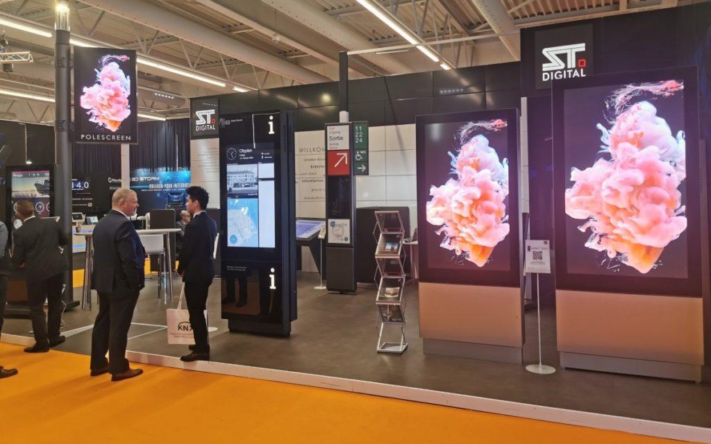 ST Digital - Impressionen ISE 2020 (Foto: invidis)