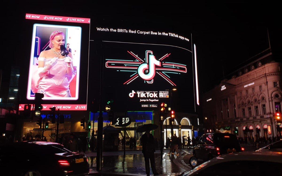 Der Livestream war teil einer Werbekampagne, mit der TikTok die Partnerschaft mit den BRIT Awards ankündigte (Foto: Talon)