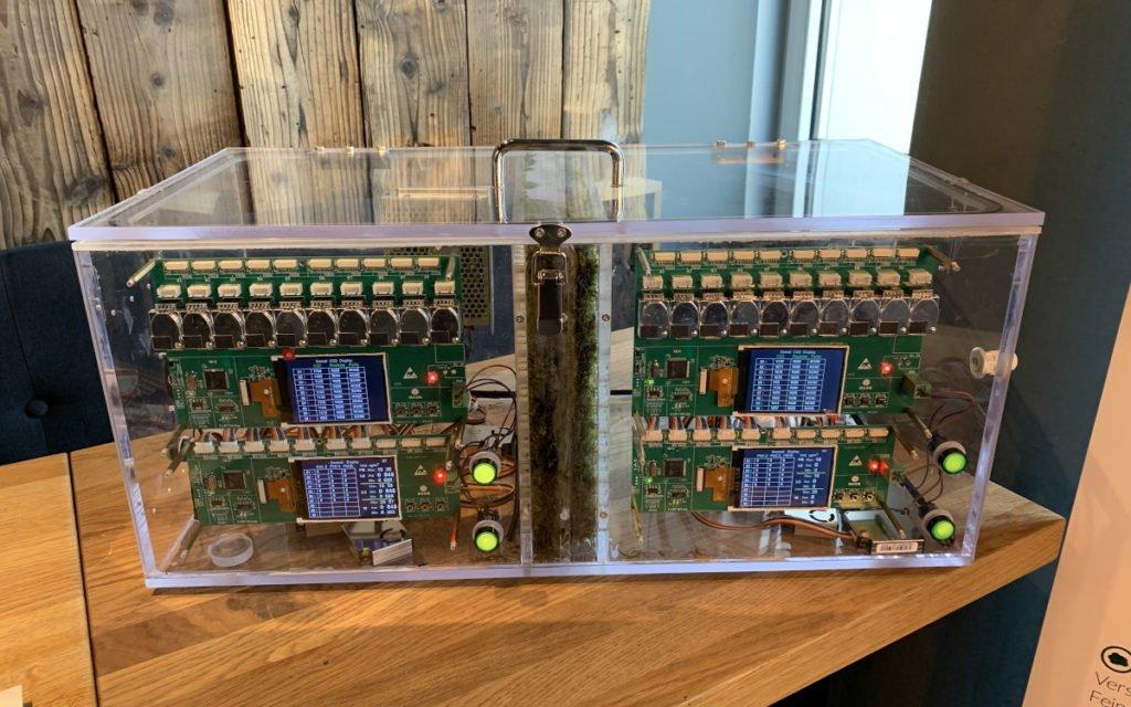 Sensoren und Umwelttechnik in Green City Installationen (Foto: invidis)