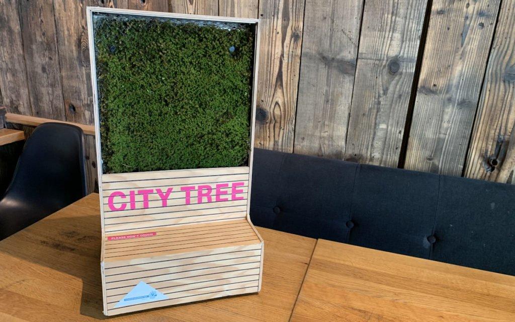 Modell der Green City Lösung eingesetzt von der Telekom (Foto: invidis)