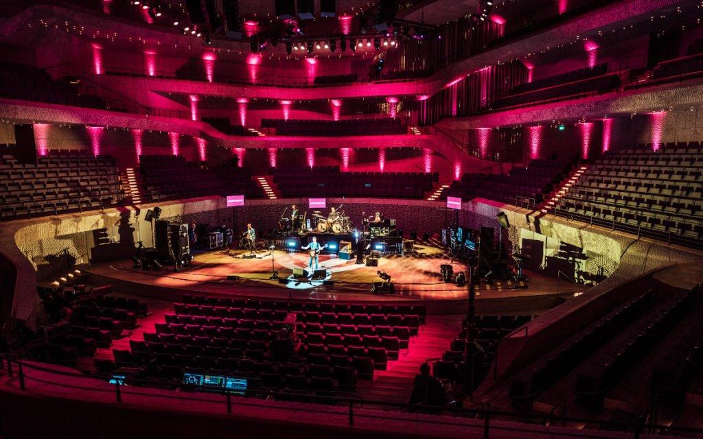 James Blunt Konzert der Telekom vor leeren Rängen (Foto: Telekom)