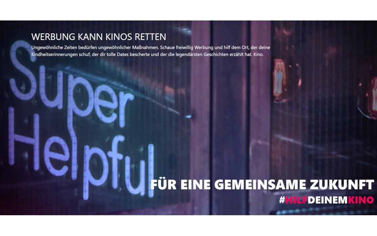 Weischer startet HilfdeinemKino Initiative (Foto: Weischer)