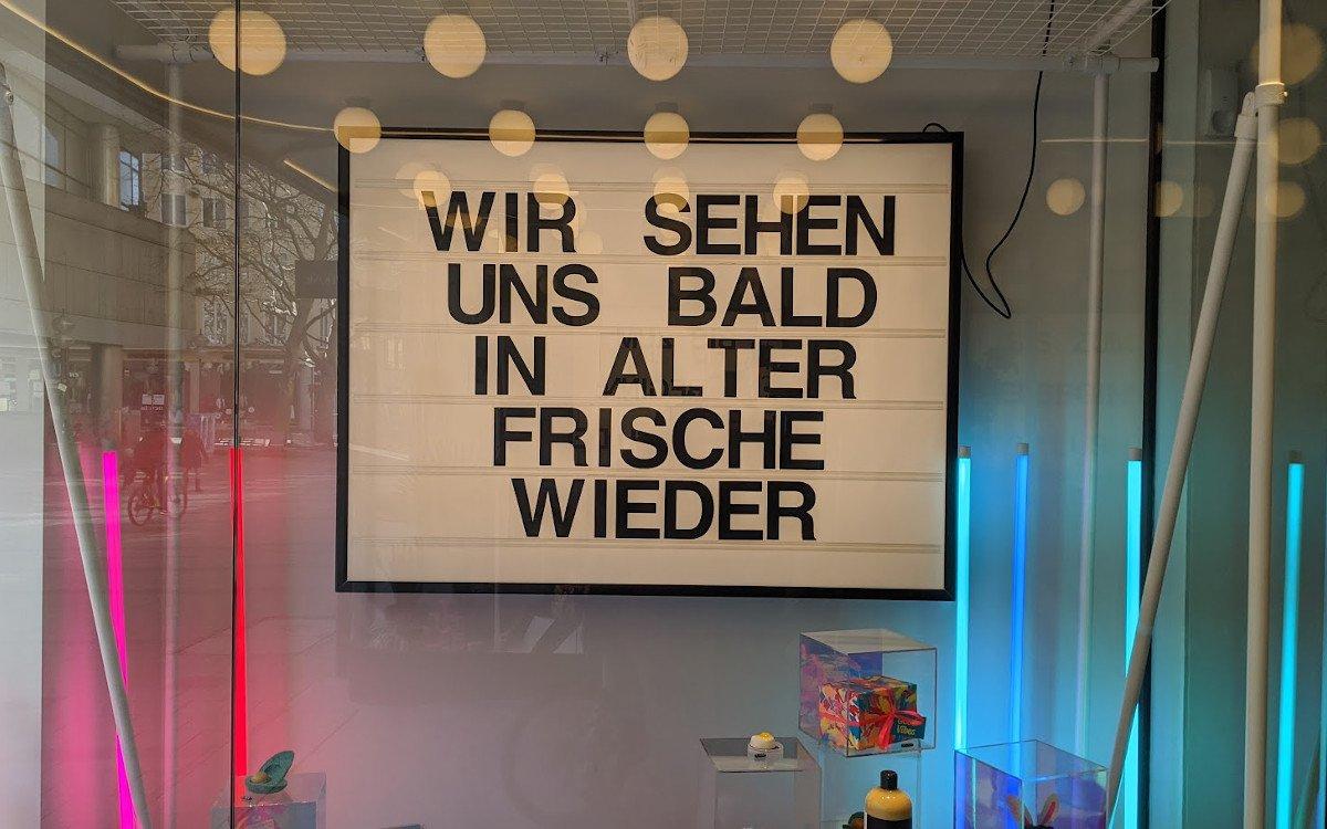 Entdeckt am Wochenende bei Lush in München (Foto: invidis)