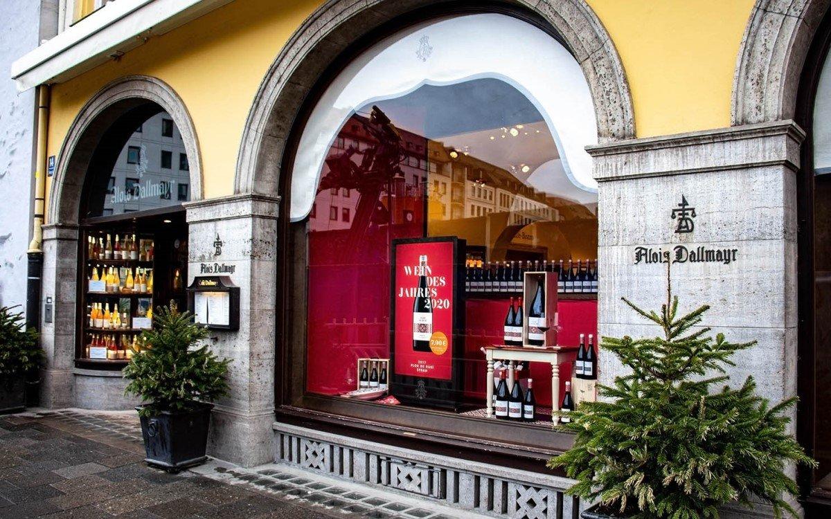 Im Münchener Delikatessenhaus wirbt Dallmayr künftig mit Digital Signage integriert von Wedeko (Foto: Wedeko)