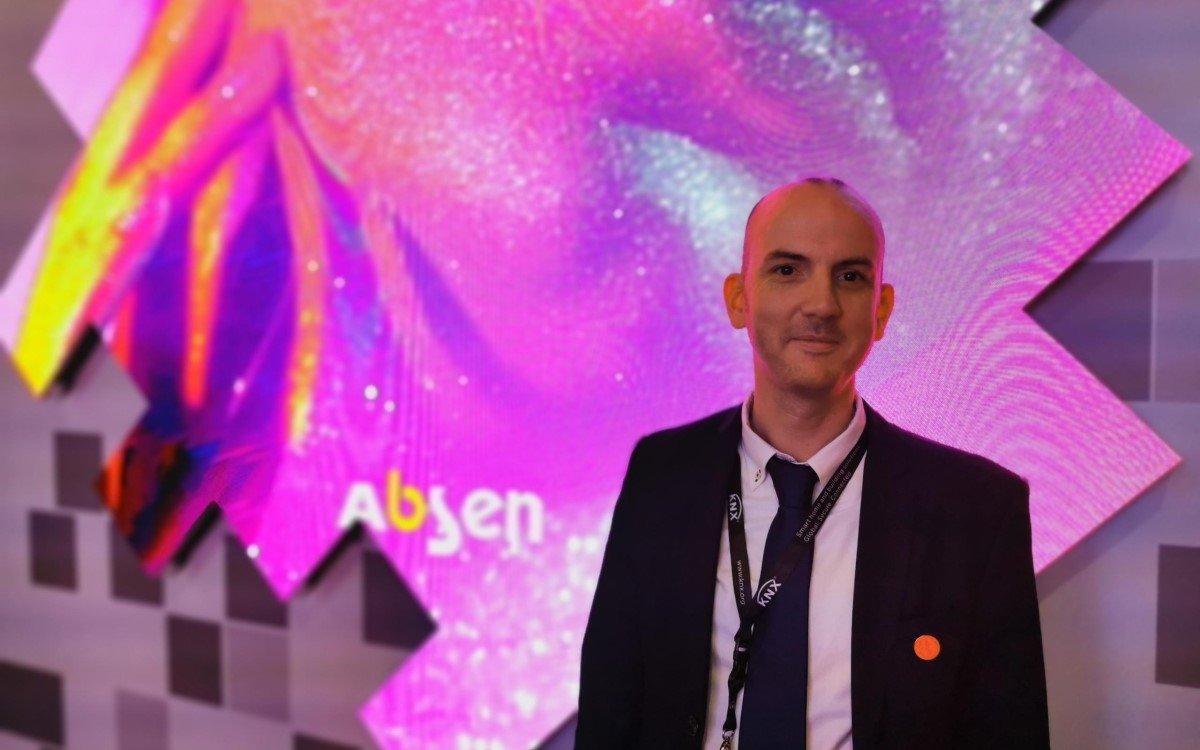 Ben Phelps, der auch auf dem DSS Europe im Juli in München spricht, wird Retail Industry Director bei Absen (Foto: Absen)