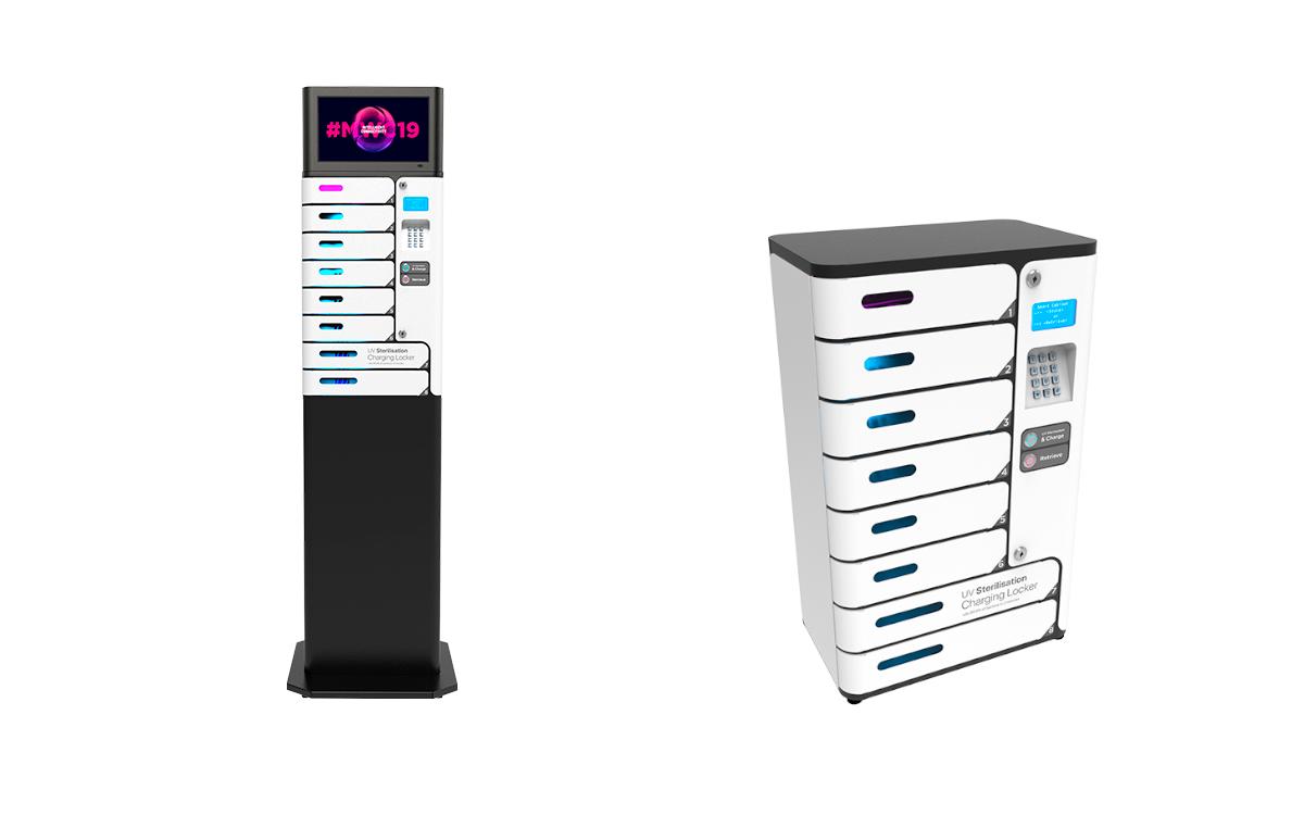 Die Ladeschrank-Lösungen von Battever mit integrierter UV-Reinigung (Foto: Battever)