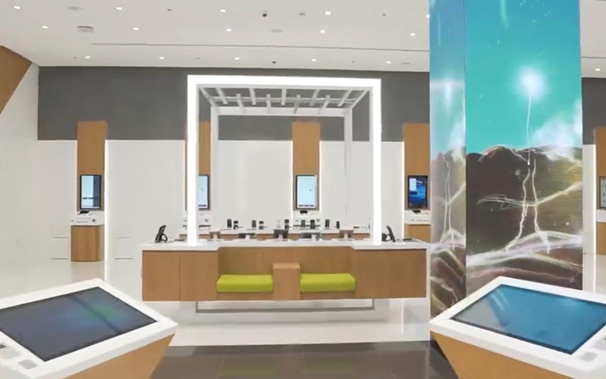 Etisalat's neuer Concept Store im Mirdif City Center in Dubai (Foto: Screenshot)