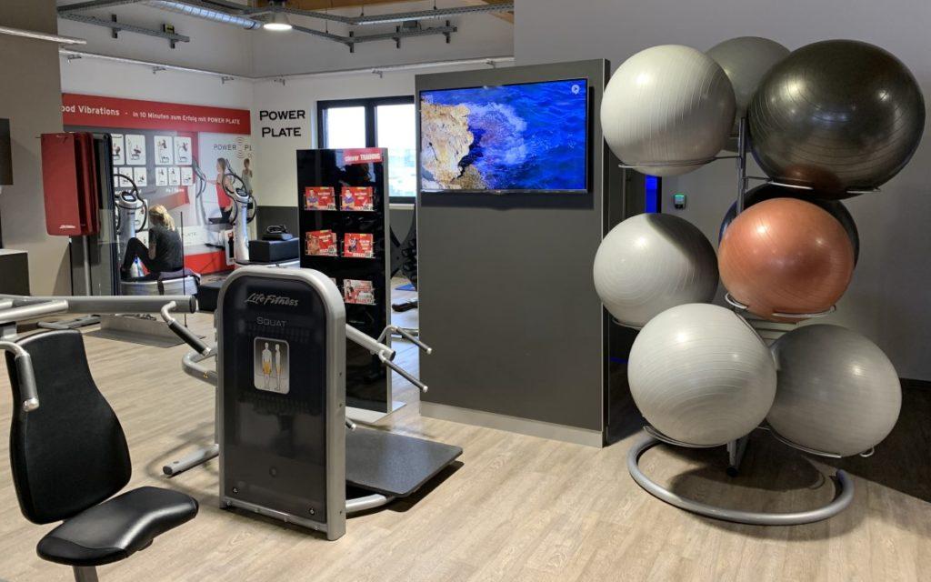 Airtango-Screens in Fitness-Studios erreichen junge Zielgruppen in ihrer Freizeit (Foto: Airtango)