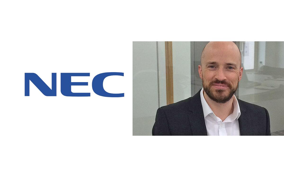 Simon Hayes stößt zum UK Solutions Teams von NEC, nachdem er zuvor für SMART Technologies gearbeitet hat (Foto: NEC)