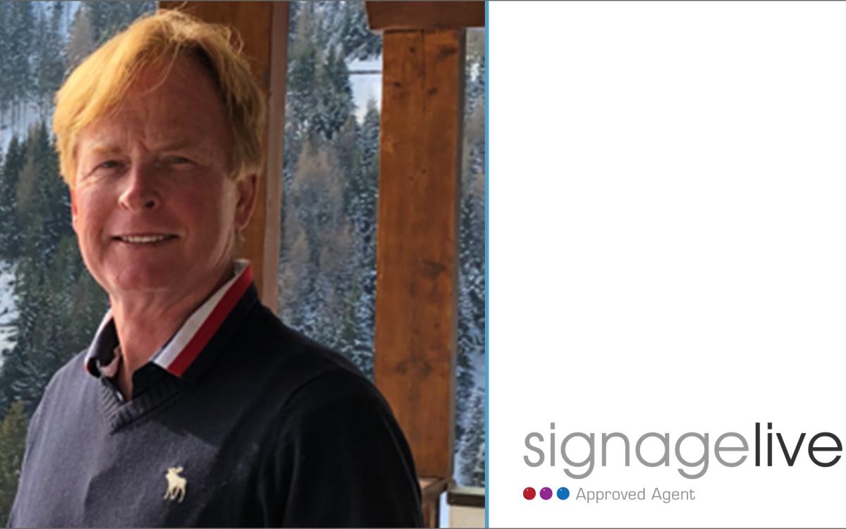Signagelive gibt Lars Aage Olesen und Infoview als Approved Agent für die Nordischen Länder bekannt (Foto: Signagelive)