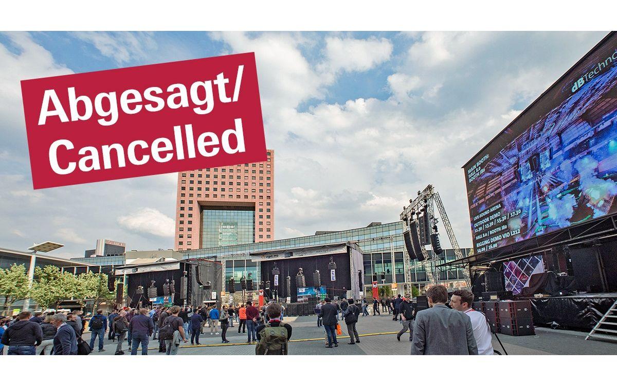 Die diesjährige Prolight + Sound ist abgesagt und soll erst im April 2022 wieder in Frankfurt stattfinden (Foto: Messe Frankfurt)