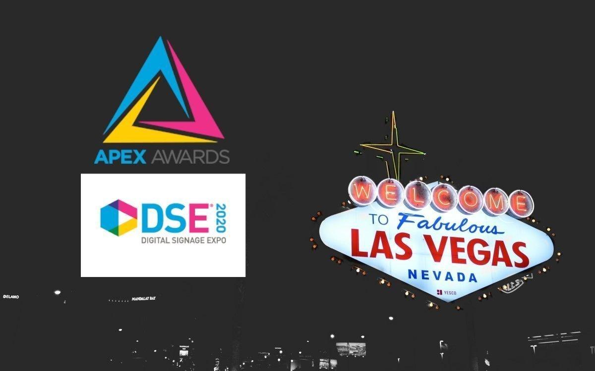 Die APEX-Awards 2020 werden von der Digital Signage Federation am 1. April im Kongresszentrum von Las Vegas auf der APEX Awards Convention Center Ceremony präsentiert (Foto: DSE/unsplash)