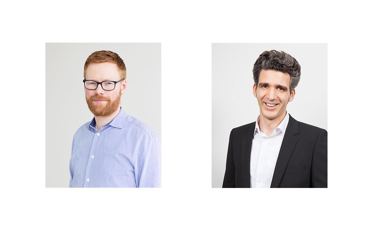 René Coiffard (l.) und Boris Cieslar verstärken die Geschäftsführung der Omnicom Media Group Germany (Foto: OMD)