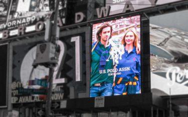 Das erste programmatische Billboard am Times Square, New York (Foto: Greyline Outdoor)