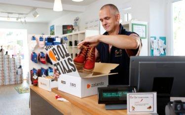 Shopping Center trifft auf Online (Foto: Zalando)