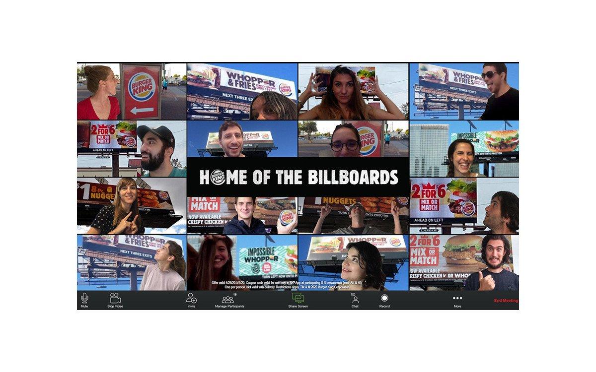 Burger King Home of Billboards (Foto: Screenshot)