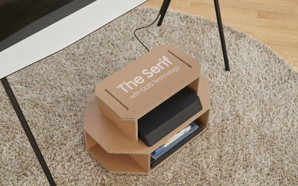Neues Leben für Samsung Display-Kartons (Foto: Samsung)