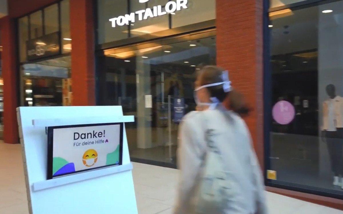 Maske?Danke!- Startup aus Hildesheim (Foto: screenshot)