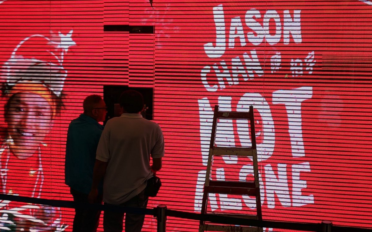 Digital Signage Installation in Hongkong (Foto: invidis)