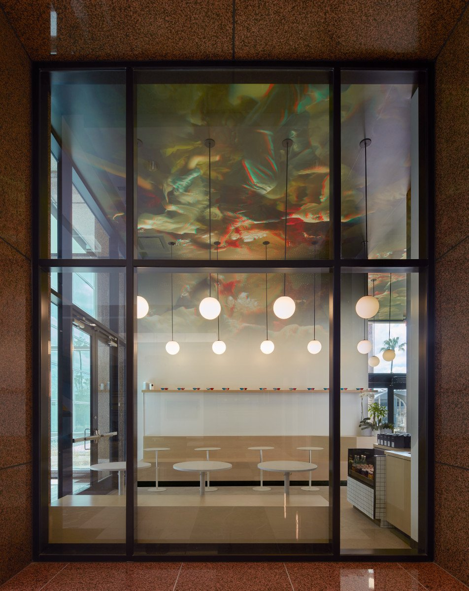 Stereoscope Cafe in Newport Beach (Foto: Benny Chan / Wick Architecture)
