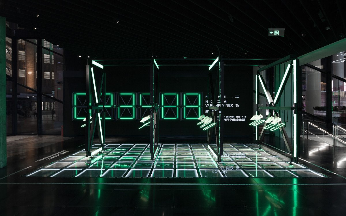 Popup-Space im Nike House of Innovation Shanghai (Foto: Charlie Xia/Coordination Asia)