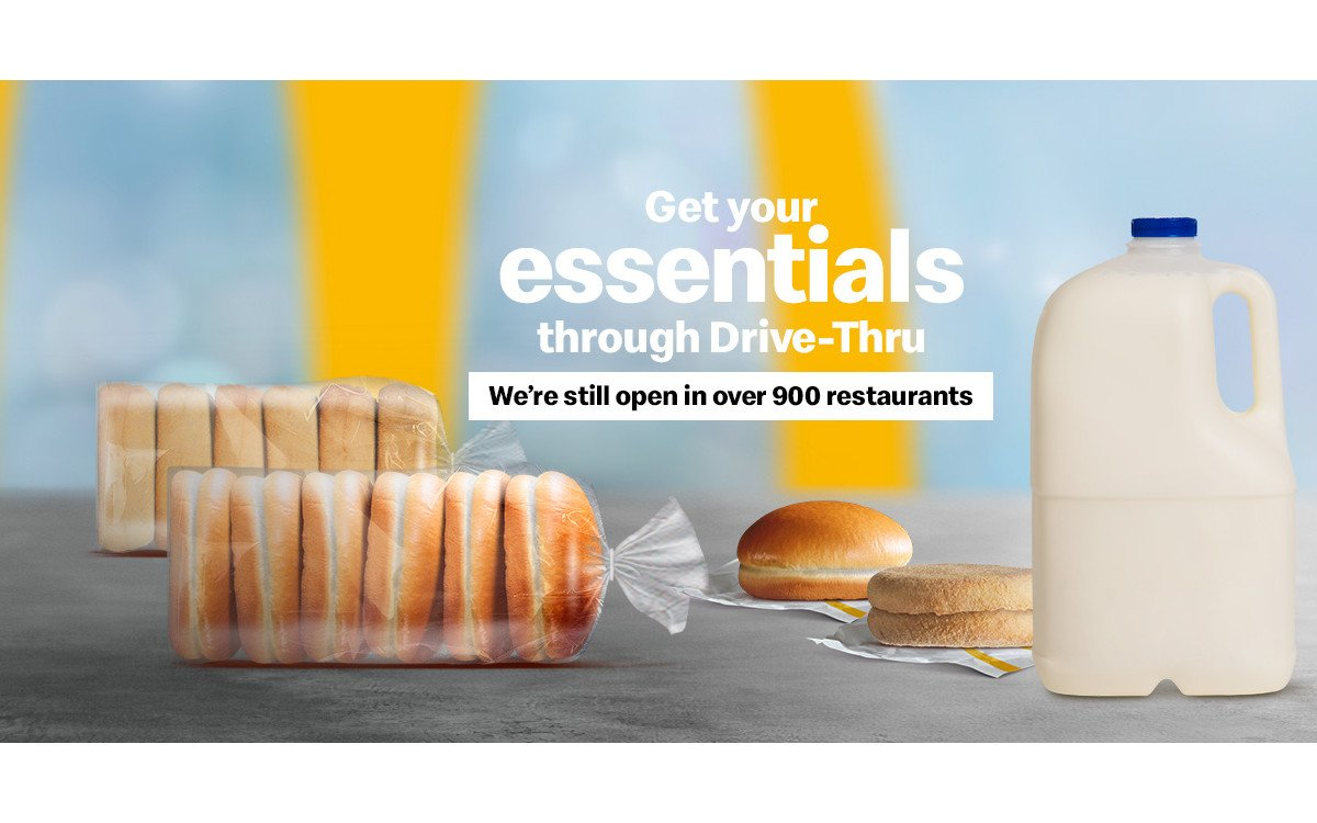 Bei McDonalds in Australien gibt es meht als Burger (Foto: McD Australia)