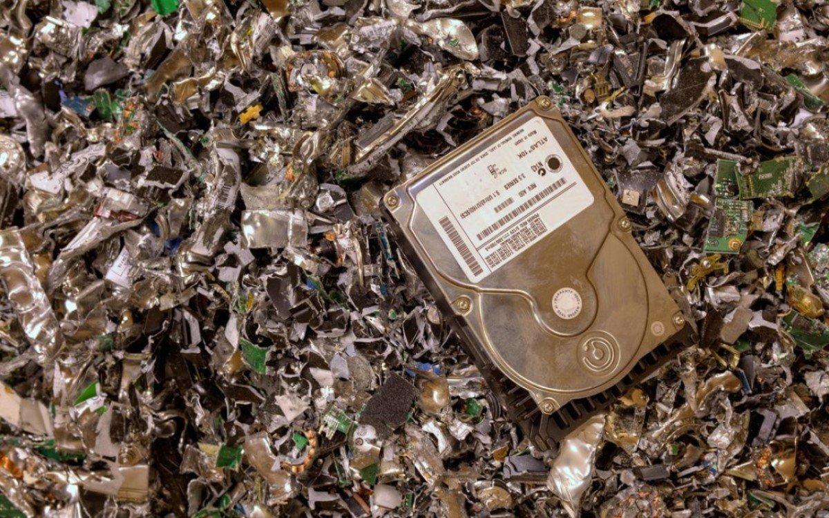 Hartes Studienergebnis: 76 Prozent aller ausgedienten Geräte in DE werden nicht recycelt – Das betriffft auch Digital Signage-IT (Foto: Blancco)