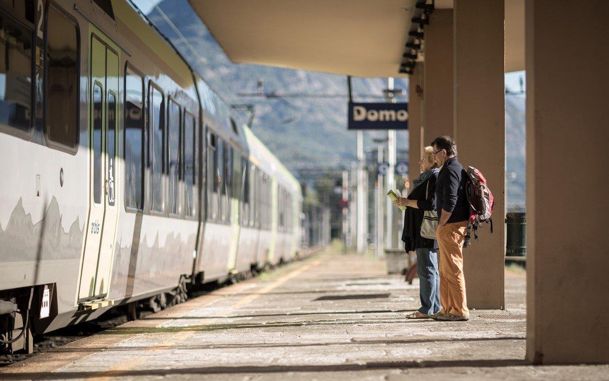 Domodossola-Bahnhof im Netz der BLS Schweiz (Foto: BLS)