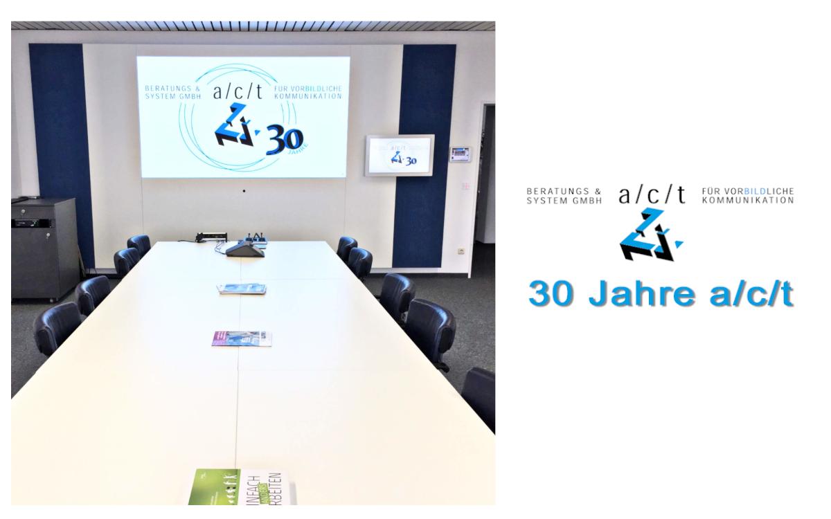 Die a/c/t Beratungs & System GmbH feiert 30 Jahre – in Zeiten von Corona eben virtuell (Foto: a/c/t)