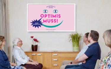 """TV-Wartezimmer unterstützt die Initiative """"Deutschland gegen Corona"""" mit 15-sekündigen Spots auf rund 6.000 Standorten (Foto: TV-Wartezimmer)"""