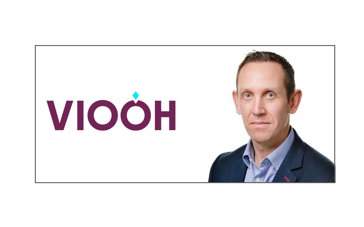 Gavin Wilson, neuer Chief Revenue officer CRO bei VIOOH, dem Digital Signage-Marktplatz für programmatische DooH-Werbung (Foto: VIOOH)