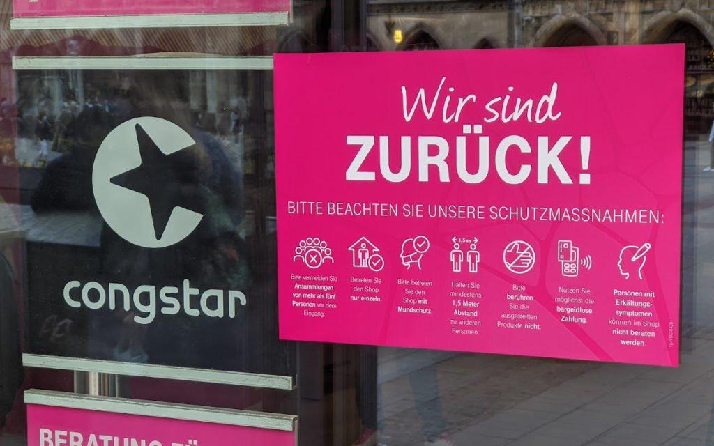 Alles klar bei der Telekom am Marienplatz (Foto: invidis)