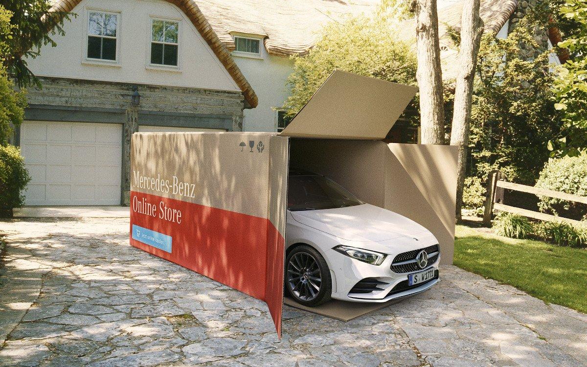 Online oder Autohaus - mehr Flexibilität bei der Bestellung und Auslieferung (Foto: Mercedes Benz)