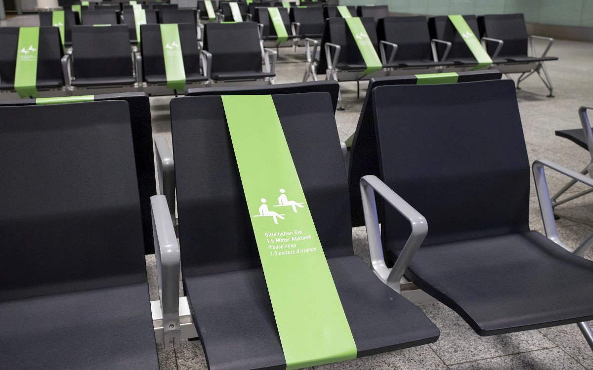 Jeder zweite Platz bleibt frei (Foto: Fraport)