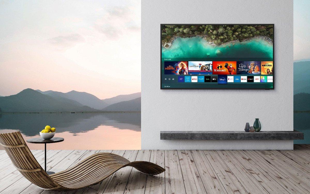 Samsung The Terrace - High Brightness und IP55 Spritzwasser- und Staubschutz (Foto: Samsung)