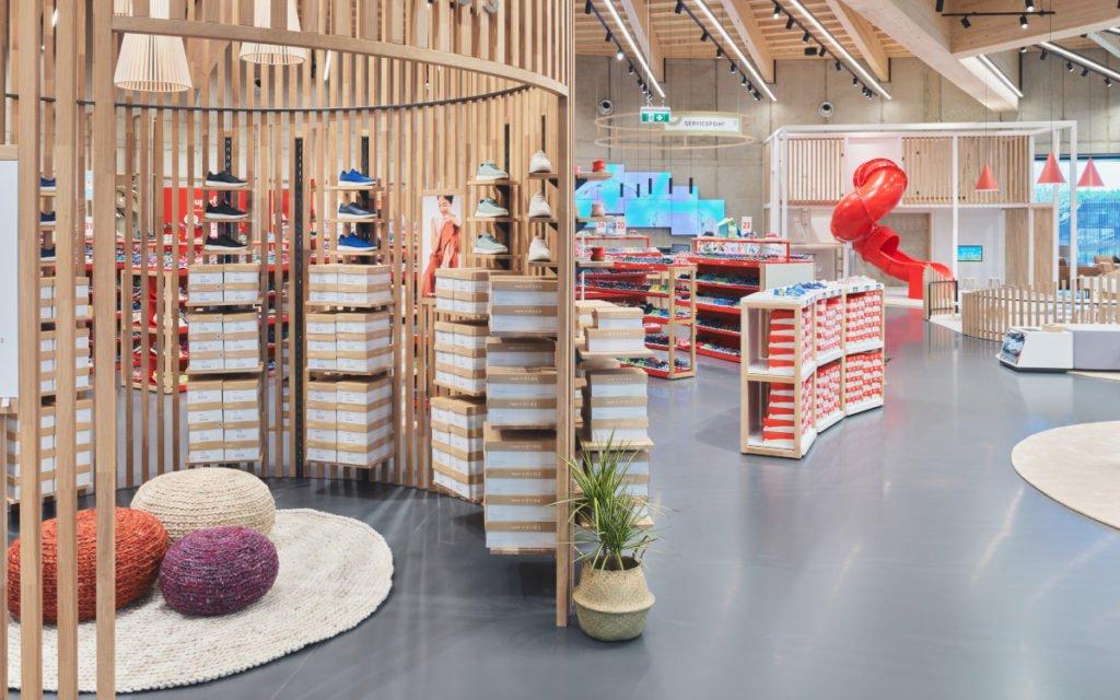 Legero United Ladenbaukonzept und -Design von Umdasch (Foto: Umdasch)