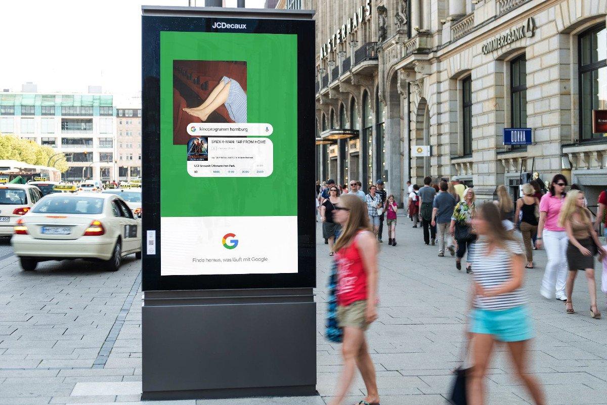 Plakadiva Gold - Google data-driven-dynamic-digital Out of Home (Foto: FAW)